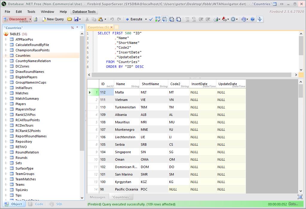 Open Firebird embedded database file | peteris rocks