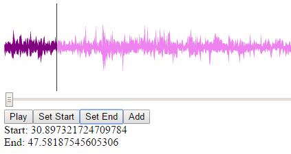 WaveSurfer js copy audio   peteris rocks